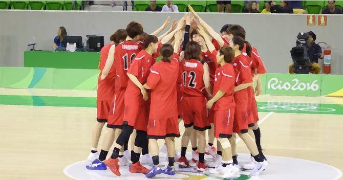 バスケットボール女子日本代表2