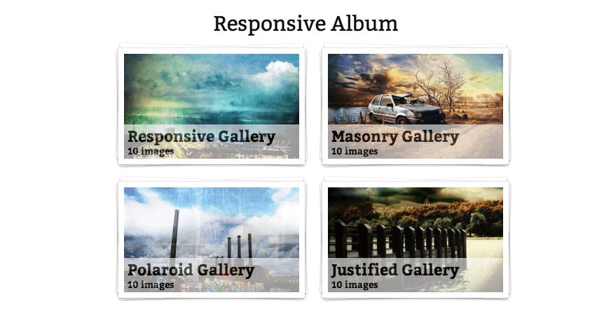 Responsive Album
